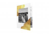 Zaproszenia Nowoczesne - Minimalistyczne, 10x15 cm