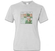 Koszulka damska, Kolekcja Długopisem Malowane - Market - damska