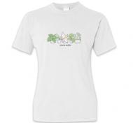 Koszulka damska, Kolekcja Długopisem Malowane - Wincyj roślin