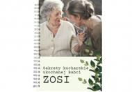 Zeszyt Przepiśnik Babci kratka, 15x21 cm