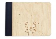 Album drewniany Misio, 18x14 cm