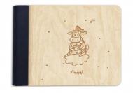 Album drewniany Krówka, 18x14 cm