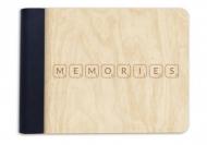 Album drewniany Memories, 18x14 cm