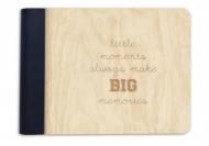 Album drewniany Little moments, 18x14 cm