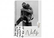 Notes Twój projekt kropki, 15x21 cm