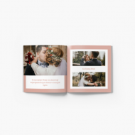 Fotozeszyt Podziękowania ślubne dla dziadków, 20x20 cm