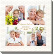 Obraz, Najlepsza Babcia na świecie, 40x40 cm