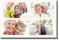 Obraz, Najlepsza Babcia na świecie, 40x30 cm