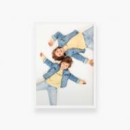 Plakat w ramce, Twój projekt - biała ramka, 20x30 cm