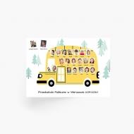 Plakat, Tablo dla przedszkolaków, 70x50 cm