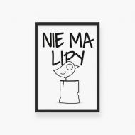 Plakat w ramce, Kolekcja Ptaszek Staszek - Nie ma lipy, 20x30 cm