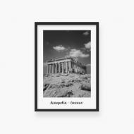 Plakat w ramce, Akropol, 30x40 cm