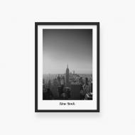 Plakat w ramce, New York , 30x40 cm
