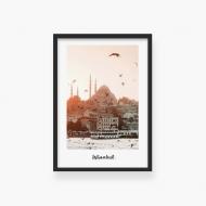 Plakat w ramce, Stambuł , 30x40 cm