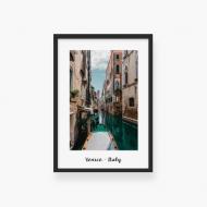 Plakat w ramce, Wenecja , 30x40 cm