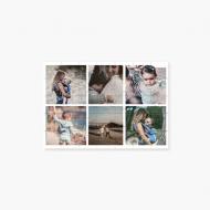 Puzzle, Kolaż zdjęć , 9 elementów
