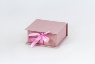 Pudełko na zdjęcia, 10x10 Brudny róż , 12x12 cm