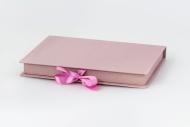 Pudełko na fotoksiażkę, 20x30/30x20 brudny róż, 24x33 cm