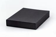 Pudełko na fotoksiażkę, 20x30/30x20 czarne matowe, 24x32 cm