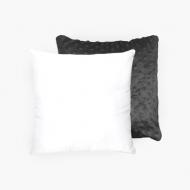 Poduszka minky, bawełna/minky, Pusty szablon minky, 30x30 cm