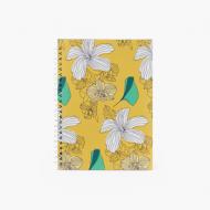 Notes Botaniczny - kratka, 15x21 cm
