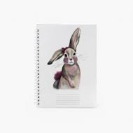 Notes Bunny - kratka, 15x21 cm