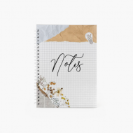 Notes Scrapbook'owy - kropki, 15x21 cm