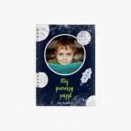 Notes Mój pierwszy zeszyt - chłopiec, 15x21 cm