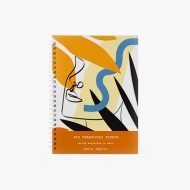 Notes Prostota - linie, 15x21 cm