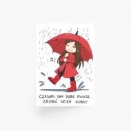 Plakat, Kolekcja Rynn Rysuje - Zrób sobie dzień dobry II , 20x30 cm
