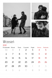 Kalendarz, Twój kalendarz miłosny, 20x30 cm