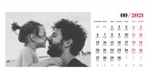 Kalendarz, Chwytaj wspomnienia, 22x10 cm
