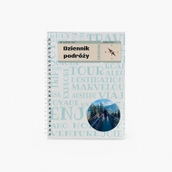 Notes Dziennik podróży, 15x21 cm