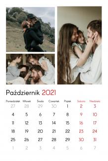 Kalendarz, Twój kalendarz rodzinny , 20x30 cm