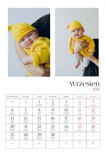 Kalendarz, Twój kalendarz dziecięcy, 20x30 cm