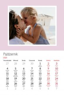 Kalendarz, Wszystkiego najlepszego Mamo, 20x30 cm