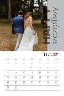 Kalendarz, Dobrana para, 20x30 cm