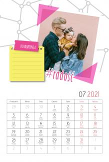Kalendarz, Zaplanuj sobie rok, 20x30 cm