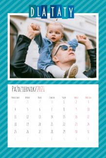 Kalendarz, Wyjątkowy Tata, 20x30 cm