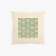 Poduszka, bawełna ekologiczna, Pure Nature - Insect, 40x40 cm