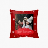 Poduszka, bawełna, Merry Christmas, 38x38 cm