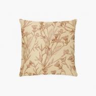 Poduszka, bawełna, Pure Nature - flower, 38x38 cm
