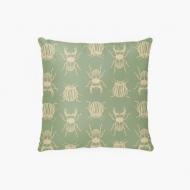Poduszka, bawełna, Pure Nature - Insect, 38x38 cm