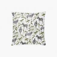Poduszka, bawełna, Wild Life Zebra, 38x38 cm