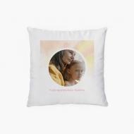Poduszka dekoracyjna, poliester, Kochanej Babci, 38x38 cm