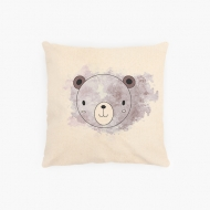 Poduszka, bawełna ekologiczna, Misio, 40x40 cm