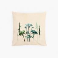 Poduszka, bawełna ekologiczna, Poduszka roślinna, 40x40 cm