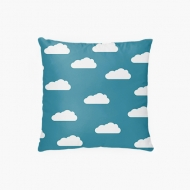 Poduszka, bawełna, Z głową w chmurach, 38x38 cm