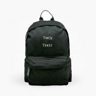 Plecak szkolny Twój tekst