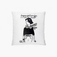 Poduszka, bawełna, Kolekcja Porysunki - Elegancja Francja, 38x38 cm